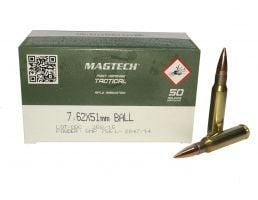 Magtech 7.62x51mm 147gr FMJ M80 Ammunition 50rds - 762A