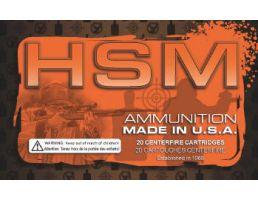HSM 338 Lapua Magnum 300gr SMK HPBT Ammunition New Manufactured 20rds - HSM-338Lapua-3-N60