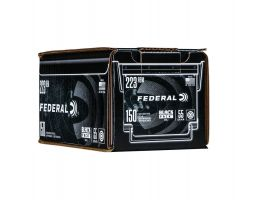 Case of Federal American Eagle .223 Remington 55 gr FMJ Black Pack, 600rds - AE223BF150