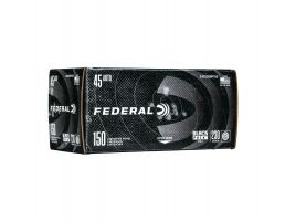 Case of Federal .45 ACP 230 gr FMJ Black Pack, 600rds - C45230BP150