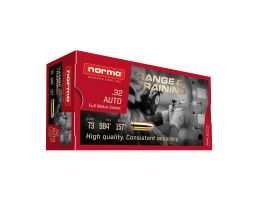 Norma Range And Training 73 gr FMJ .32 ACP Ammunition 50 Rounds