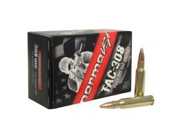 Norma Tactical 147 gr FMJ .308 Winchester Ammunition 50 Rounds