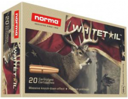 Norma Whitetail 6.5 Creedmoor Ammo 140 Grain PSP 20 rds/box - 20166492
