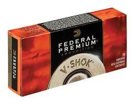 Federal 243 55gr Nosler Ballistic Tip V-Shok Ammunition 20rds - P243H