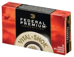 Federal 243 85gr Trophy Copper Vital-Shok Ammunition 20rds - P243TC1