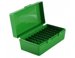 MTM P50 Series 50rd Handgun Ammo Box, Green