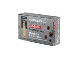 PPU Rangemaster 145 gr FMJBT 7.62x51 Ammunition For Sale