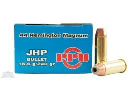 PRVI Partizan 44 Magnum 240gr JHP Ammunition 50rds - PP-R4.1
