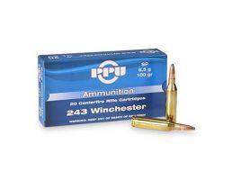 Prvi Partizan .243 Winchester SP 100 gr 20 Rounds Ammunition - PP2432