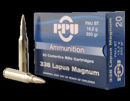 Prvi Partizan .338 Lapua Magnum FMJ 250 gr 20 Rounds Ammunition - PP338F
