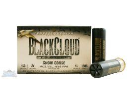 """Federal 12ga 3"""" 1-1/8oz BB Snow Goose Black Cloud HV Waterfowl Shotshells 25rds -  PWB143 BB"""