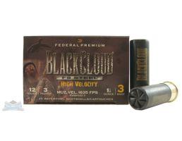"Federal 12ga 3"" 1-1/8oz #3 Black Cloud High Velocity Waterfowl Shotshells 25rds - PWBH143 3"