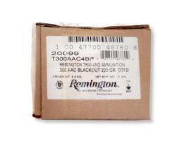 Remington 220 gr OTFB .300 Blackout Ammunition, 200 Rounds