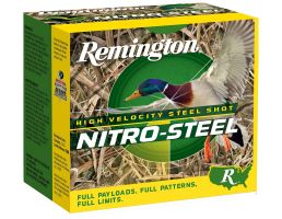 "Remington Nitro Steel 12 Gauge 3 1/2"" 1 1/2 oz BB Shot 25 Rounds"
