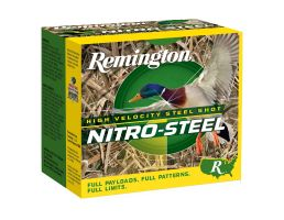 "Remington Nitro Steel 12 Gauge 3 1/2"" 1 1/2 oz 2 Shot 25 Rounds"