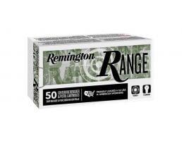 Remington Range 124 gr FMJ 9mm Ammunition, 50 Rounds for sale