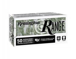 Remington Range 9mm 115 gr FMJ Ammunition, 50 Rounds - T9MM3
