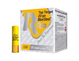"Rio Top Target Blue Steel 20 Gauge 2 3/4"" 7/8 oz 7 Shot 25 Rounds"