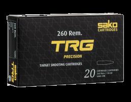 Sako TRG Precision .260 Rem Ammo 136 Grain HPBT
