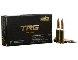 Sako TRG Precision 136 gr HPBT 6.5 Creedmoor Ammunition, 20 Rounds