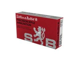 Sellier & Bellot .308 Winchester 200gr HPBT Sub-Sonic Rife Ammunition, 20 Rounds