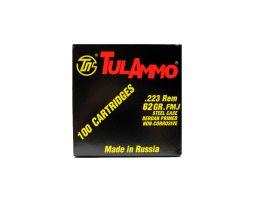 Tula 223 Remington 62gr FMJ Steel Cased