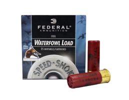 "Federal 12ga 3"" 1-1/8oz T Speed-Shok High Velocity Steel Shotshells - WF143 T"