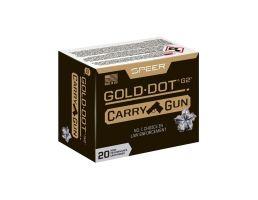 Speer Gold Dot Carry Gun 45 Auto +P 200 gr HP 20 Rounds - 24258