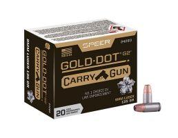 Speer Gold Dot Carry Gun 9mm 135gr HP 20rds