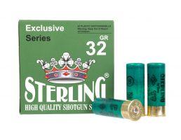 "Sterling Exclusive 2.75"" 1 1/8 oz #8 12 Gauge Ammunition, 25 Rounds"