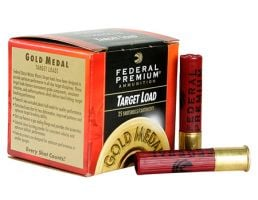 Federal 410ga 2.5 Max 1.5oz #8.5 Gold Medal Plastic Shotshells 25rds - T412 8.5
