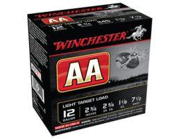 "Winchester 12ga 2.75"" Wads Light 1-1/8oz #7.5 Shotshell Ammunition 25rds - AA127"