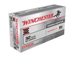 Winchester 32 Auto/ACP 60gr SilverTip Hollow Point Ammunition 50rds - X32ASHP