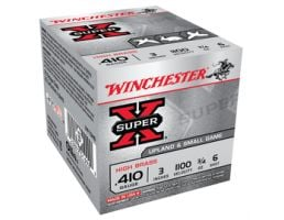 "Winchester 410 3"" #6 Heavy Super-X Ammunition 25rds - X413H6"