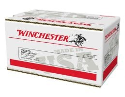 Winchester 55 gr FMJ .223 Remington 200 Round Value Pack