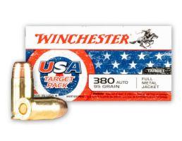 Winchester 95gr FMJ 380 ACP Ammo