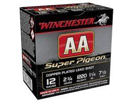 "Winchester AA Super Pigeon 2.75"" 7.5 Shot 1 1/4 oz 12 Gauge Ammunition For Sale"