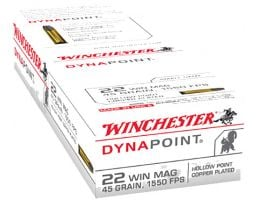 Winchester Dynapoint 45 Grain WMR Ammo, 50 rds - USA22M