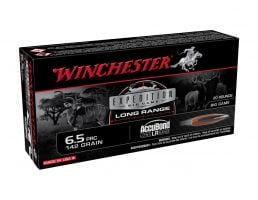 Winchester Expedition Big Game 142 gr Accubond 6.5 PRC Ammunition For Sale