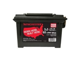 Winchester M-22 40 gr LDRN .22 LR Ammunition 2000 Rounds