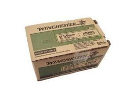 Winchester M855 62 gr FMJ 5.56x45mm Ammunition 500 Rounds