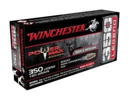 Winchester Power Max Bonded 160 gr PHP 350 Legend Ammunition 20 Rounds