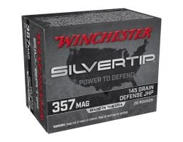 Winchester Silver Tip 145 gr JHP .357 Magnum Ammunition 20 Rounds