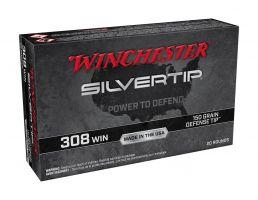 Winchester Silvertip 150 gr Defense Tip .308 Winchester Ammunition For Sale
