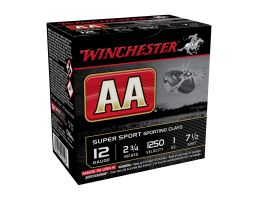 "Winchester AA Super Sport 12 Gauge 2 3/4"" Sporting Clays"