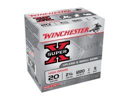 "Winchester Super X 2.75"" 1 oz 5 Shot 20 Gauge Ammunition 25 Rounds"