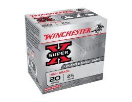 """Winchester Super X 2.75"""" #3 Buck 20 Gauge Ammunition 15 Rounds"""