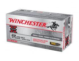 Winchester Super X .22 LR 40 gr LRN 50 Rounds Ammunition