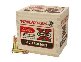 Winchester Super X 36 gr CPHP .22 LR Ammunition 400 Rounds