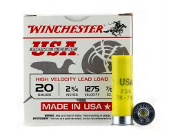 """Winchester USA Dove and Clay 2.75"""" 7/8 oz 7.5 Shot 20 Gauge Ammunition 25 Rounds"""